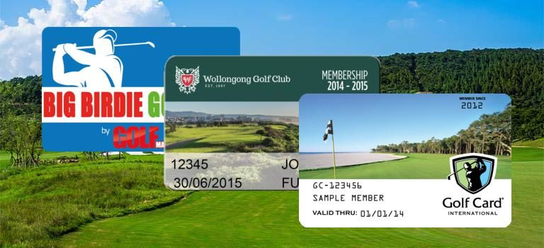 Golfclub Ausweise Sondermitgliedschaft