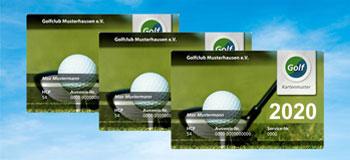 Golf Fernmitgliedschaft Ausweise