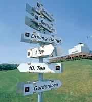 Golfwegweiser